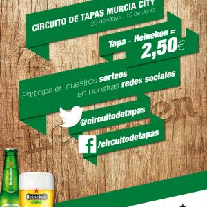 Ruta de la Tapa Heineken Murcia