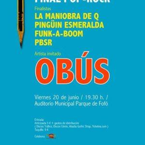 Final Creajoven 2014 con La Maniobra de Q, Pingüin Esmeralda, Funk-a-Boom y PBSR