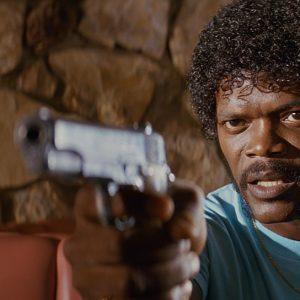 Samuel L. Jackson Pulp Fiction movie