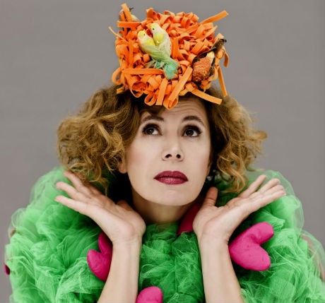 """""""La vida feliz"""" de Agatha Ruiz de la Prada en el MMOD ..."""