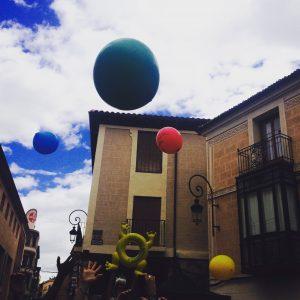 Nunatak baloons