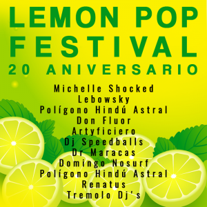 Ultimas confirmaciones Lemon Pop