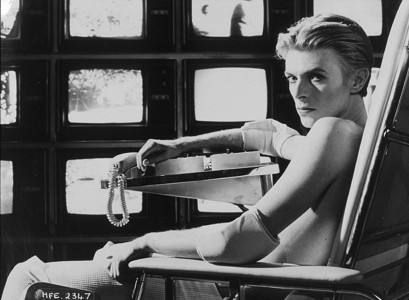 David Bowie dans les annees 70 in the 70's
