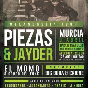 Murcia Piezas y Jayder 9 abril