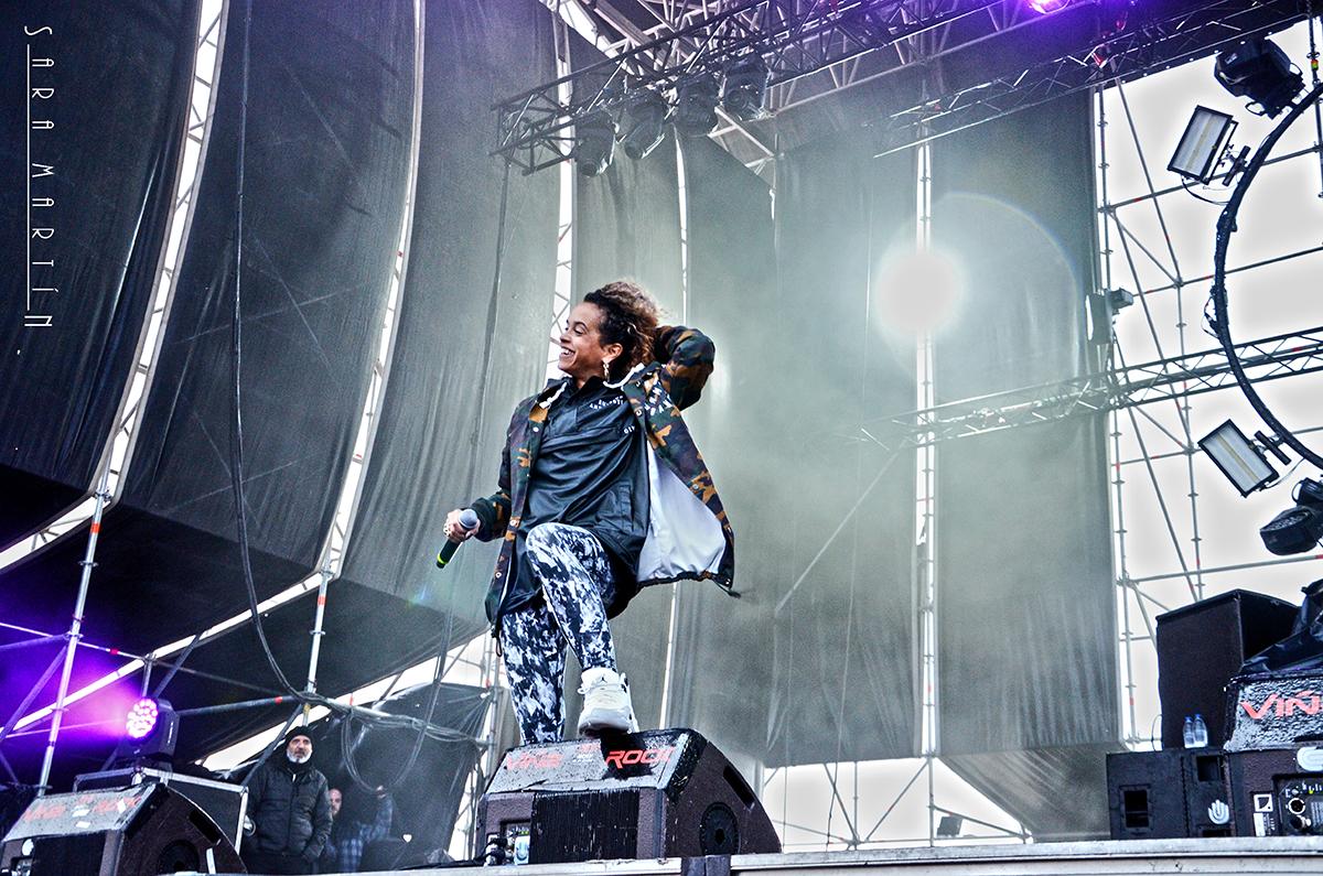 MC Melodee Cookin Soul Viña Rock 2017 - C'Mon Murcia