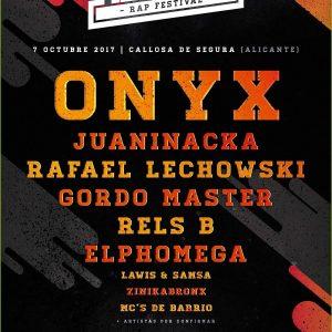 Pilarika Rap Festival Onyx Lechowski Rels B - C'Mon Murcia