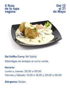 Ruta Tapa Vegana Murcia 6