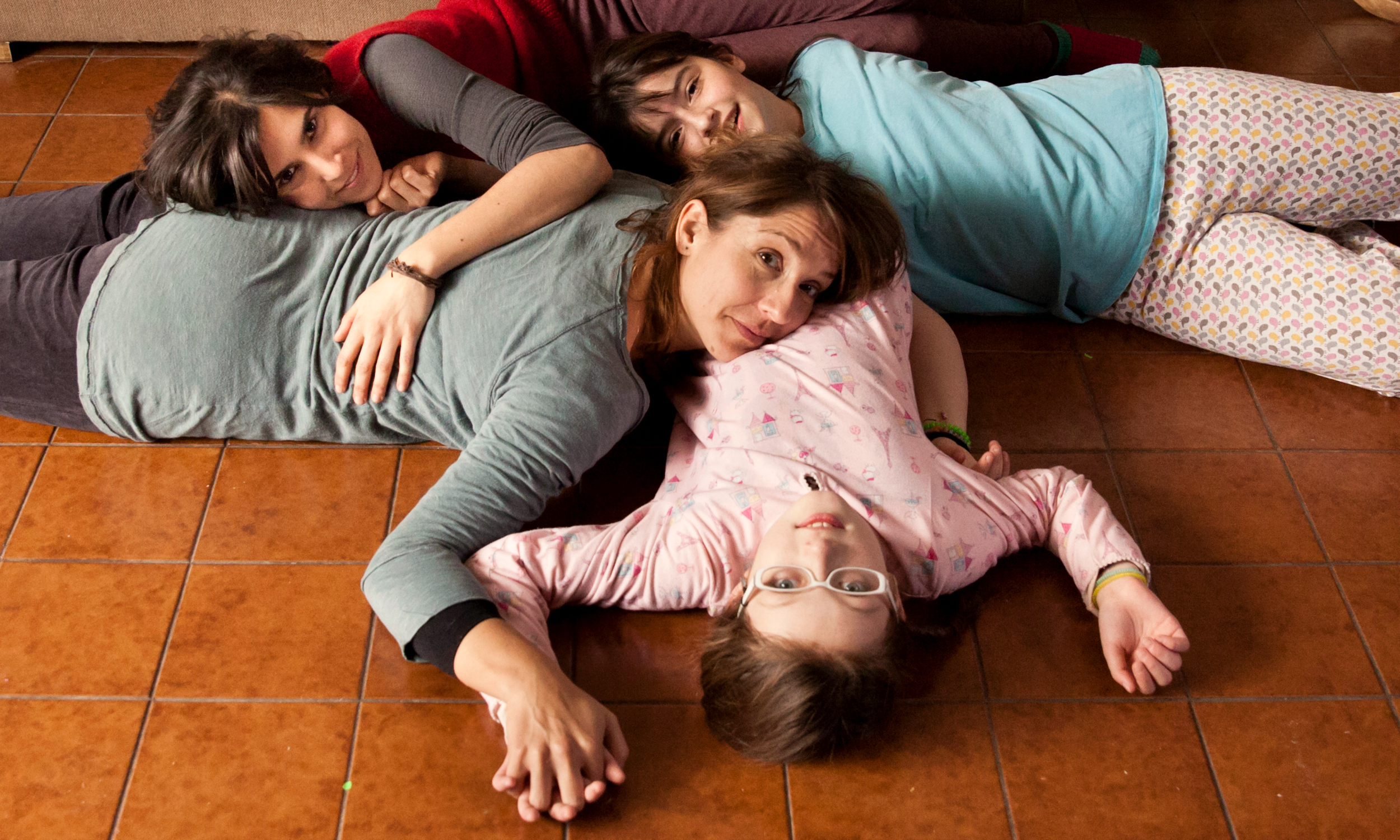 Actresses from left to right: Agustina Muñoz, Mariana Loyola, Julia Lübbert, Emilia Ossandón