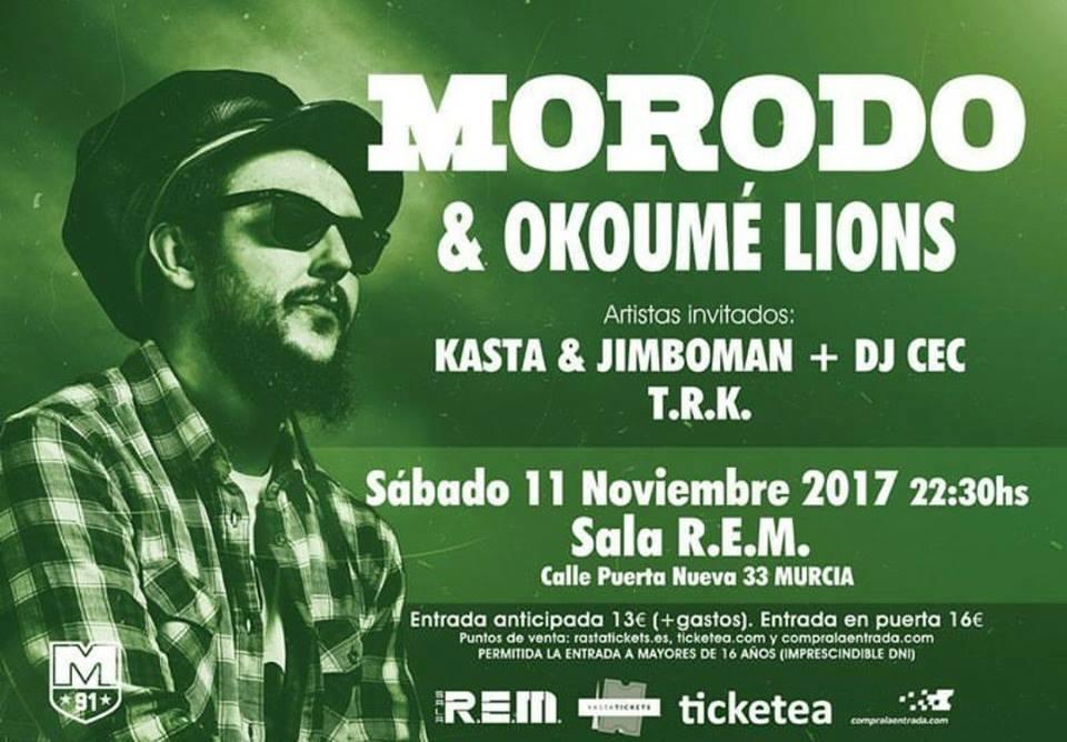 Morodo Murcia Entradas - C'Mon Murcia