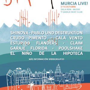 MURCIA LIVE CARTEL BIGUP 2 2017