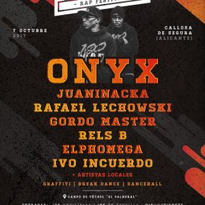 Onyx Pilarika Rap Festival C'Mon Murcia - Entradas