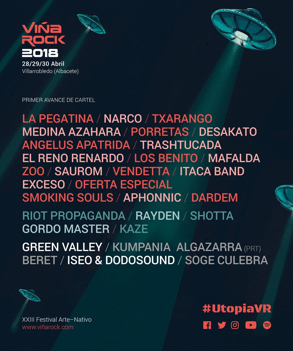 soge culebra viña rock 2018 entradas - C'Mon Murcia