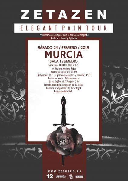 Zetazen entradas - C'Mon Murcia