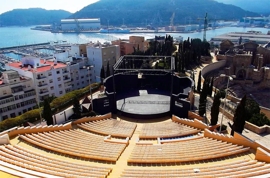 El Auditorio Parque Torres De Cartagena Será Un Cine De Verano Con Clásicos De Los 80 Y 90 C Mon Murcia